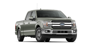 2019 F-150 LARIAT in light green