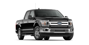 2019 F-150 XLT in black/grey