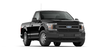2019 F-150 XL in black