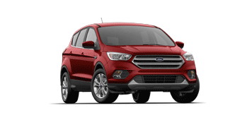 2019 Ford Escape SE in red