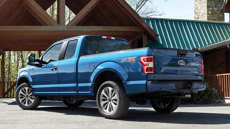 2019 Ford F-150 STX Parked by cabin