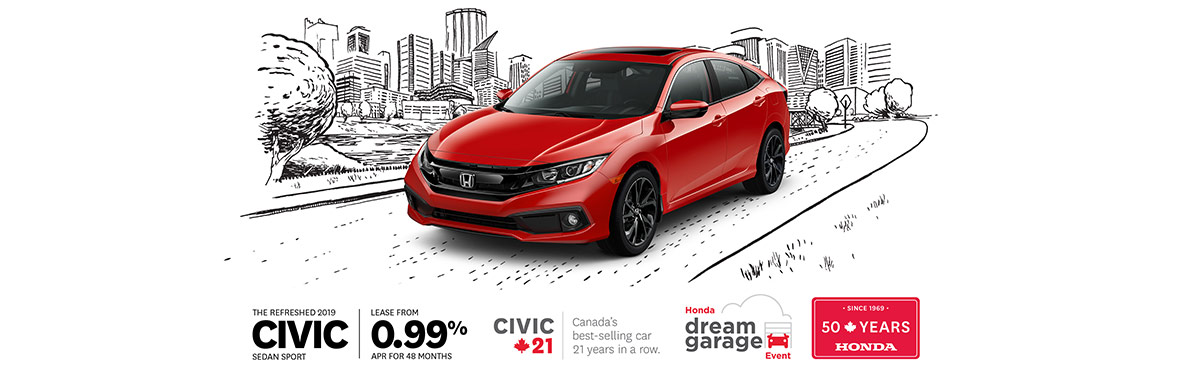 Honda Civic March 2019 OEM Offer