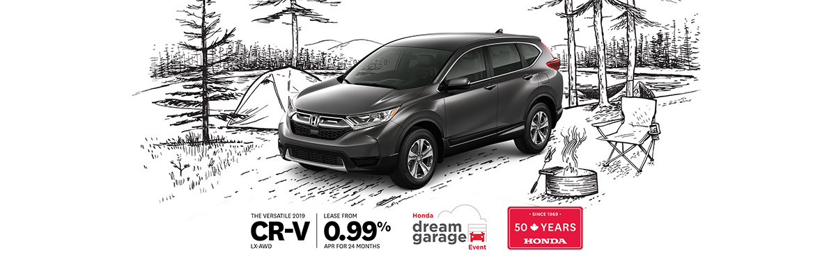 Honda CR-V March 2019 OEM Offer