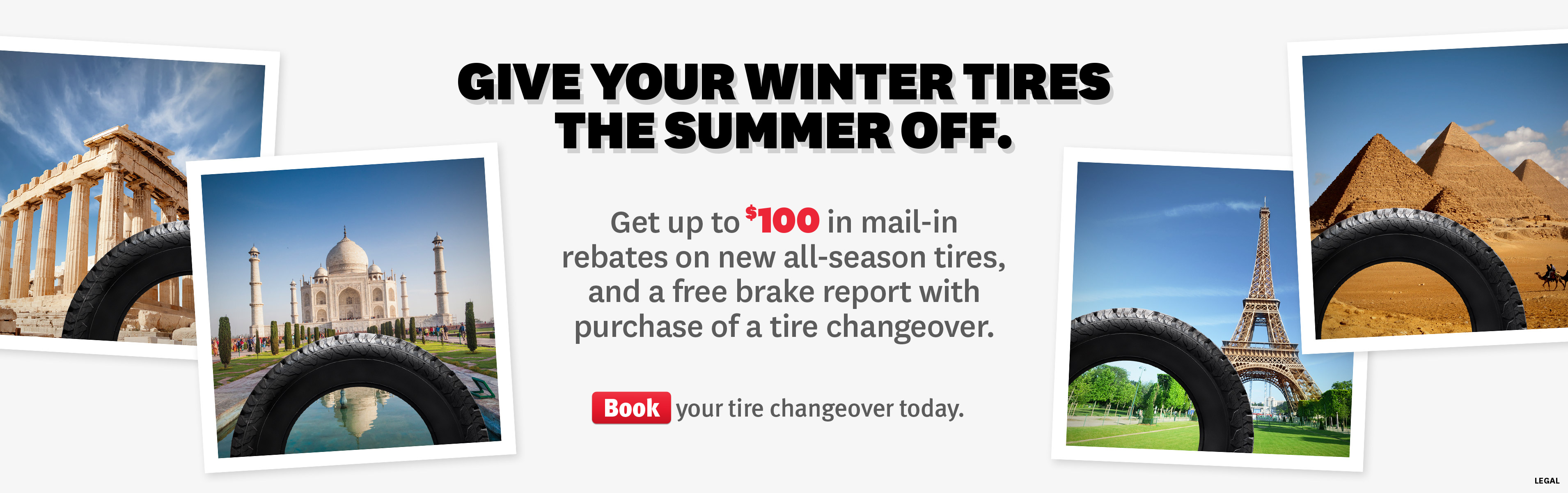 Book your tire changeover at St. Albert Honda