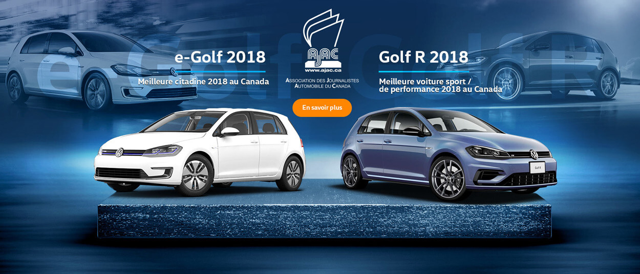 Volkswagen Golf Award winner