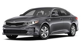 Dark Gray Kia Sedan
