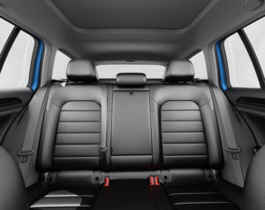 Golf SportWagen 60-40 rear seats