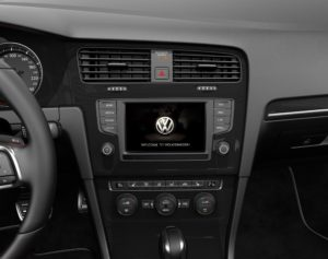 Golf GTI Infotainment System
