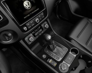 Touareg 8-speed transmission