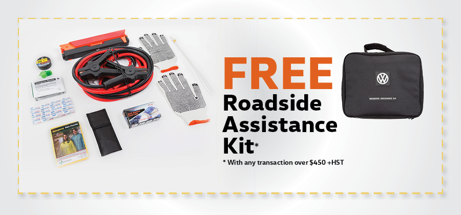 Free Roadside Assistance Kit