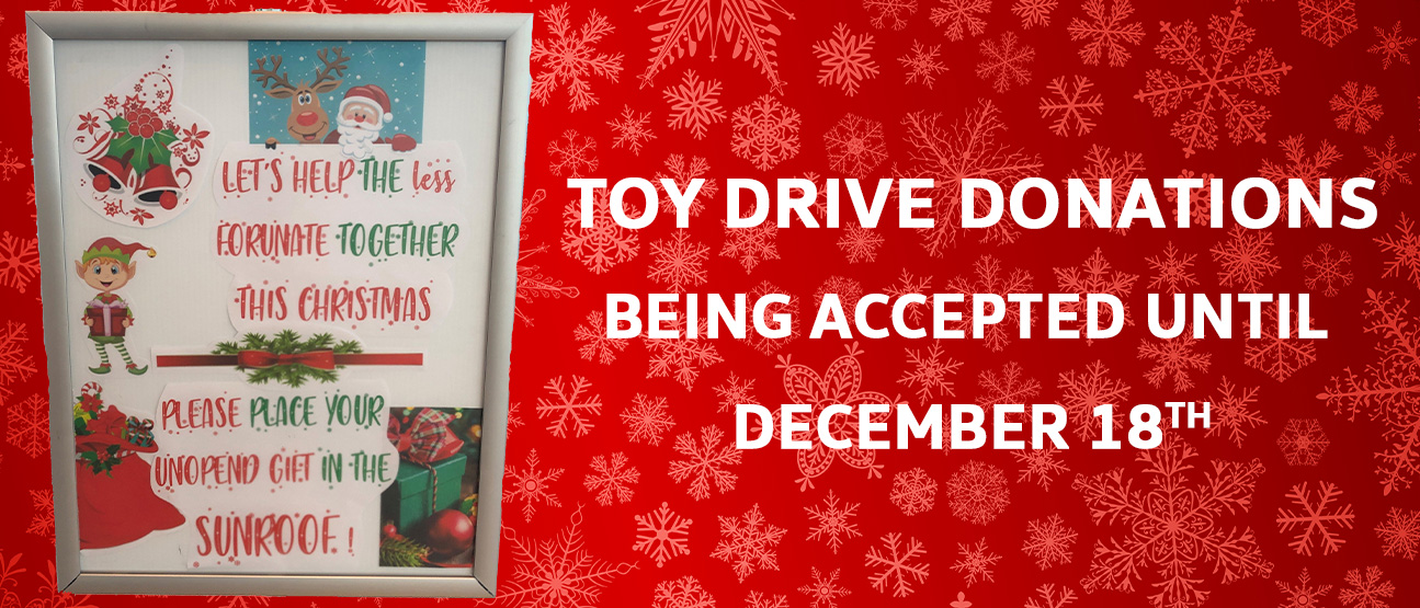 Toy Drive Mobile Popup