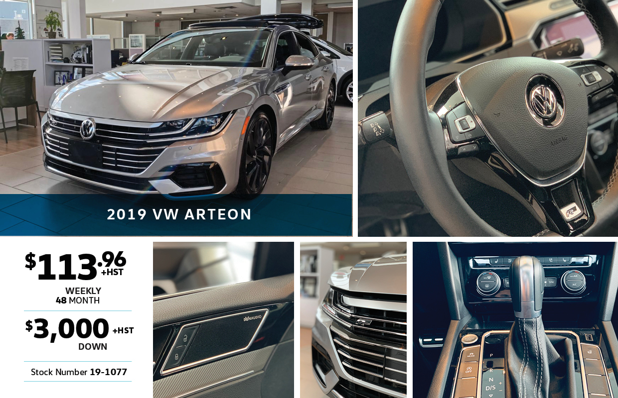 2019 Arteon Special at Maple Volkswagen