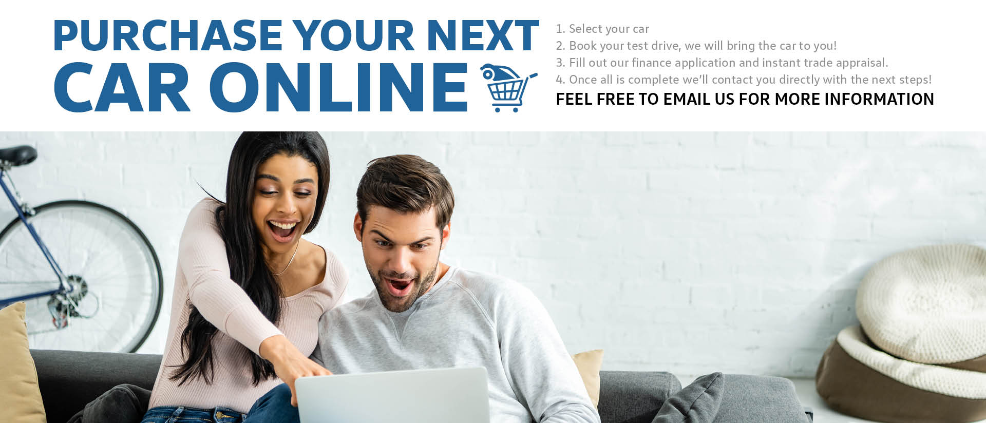 Purchase Your Next Car Online