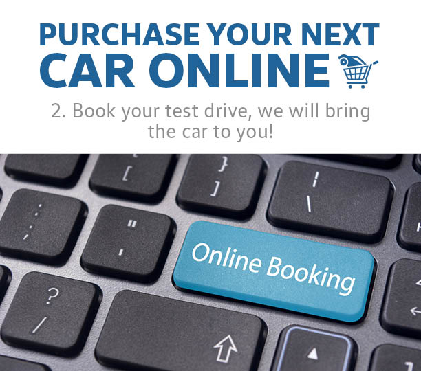 Book Your Test Drive, We Will Bring The Car To You