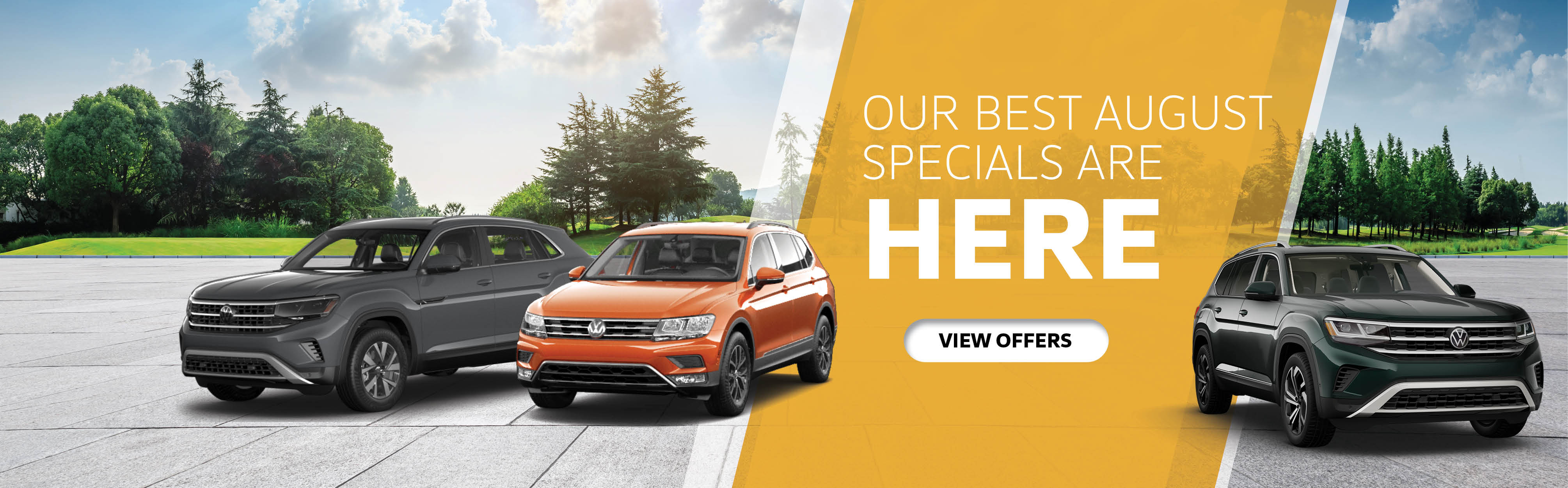 Our Best August Specials At Maple Volkswagen
