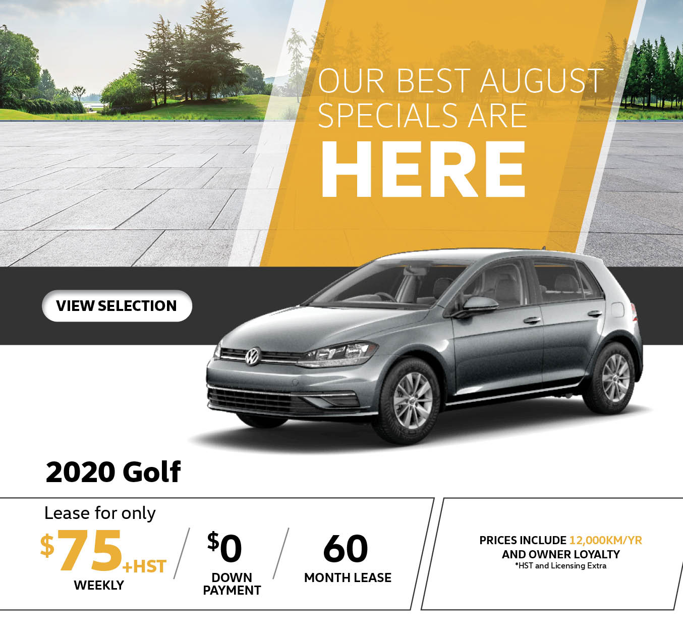 2020 Golf August Special
