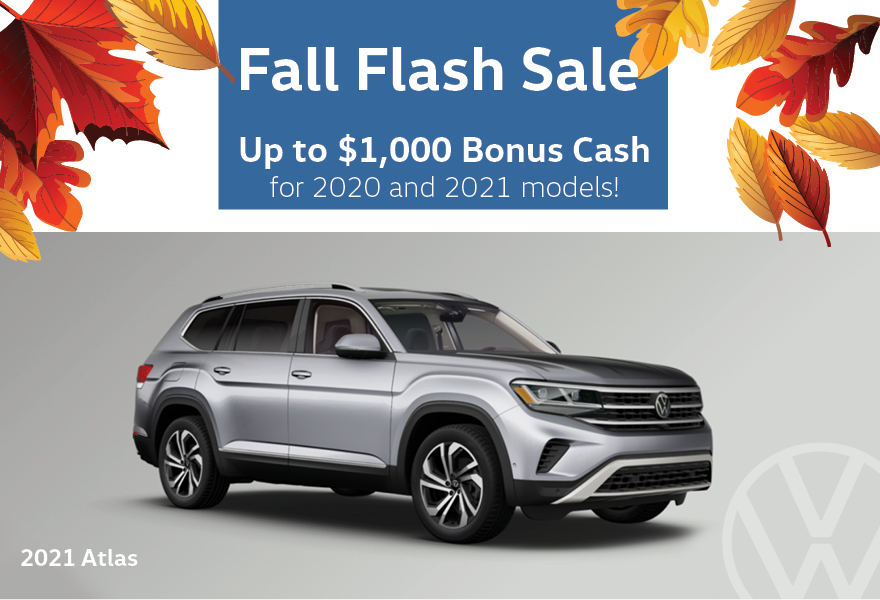Fall Flash Sale Volkswagen