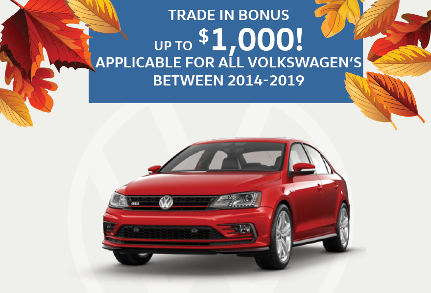 Trade In Bonus Volkswagen