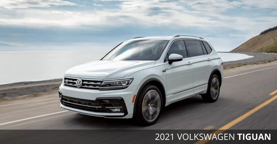 2021 Volkswagen Tiguan now available at Maple VW
