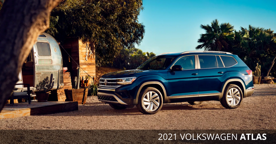 2021 Volkswagen Atlas now available at Maple VW
