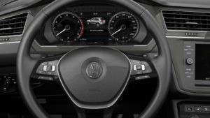 Tiguan multifunction steering wheel