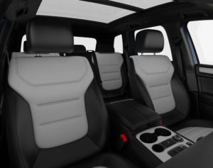 Touareg two tone leather seats
