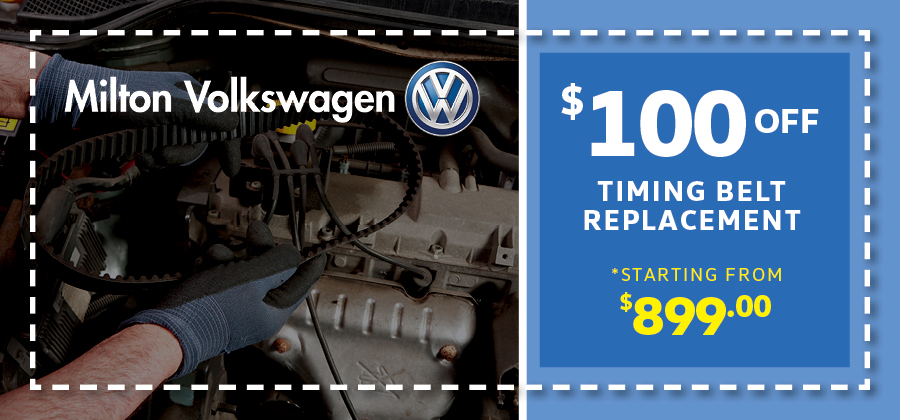 $100 off timing belt replacement