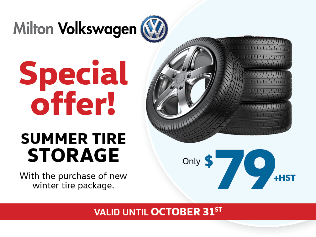 Summer Tire Storage