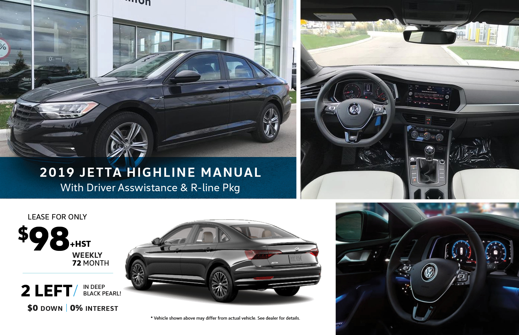 Volkswagen Jetta Highline Special Offer