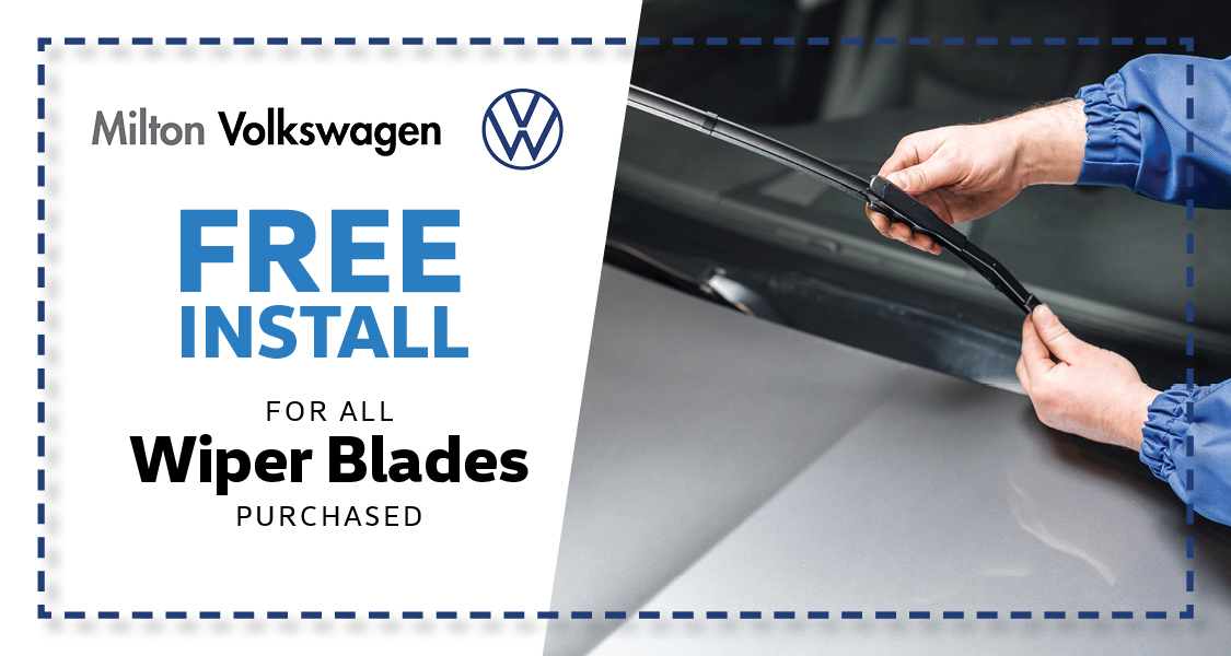 Free Install for all Winter Blades Purchased