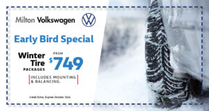 Early Bird Special Winter Tire Packages