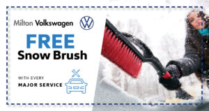 Free Snow Brush With Every Major Service