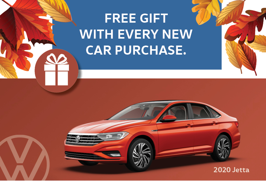 Free Gift With Every New Car Purchase