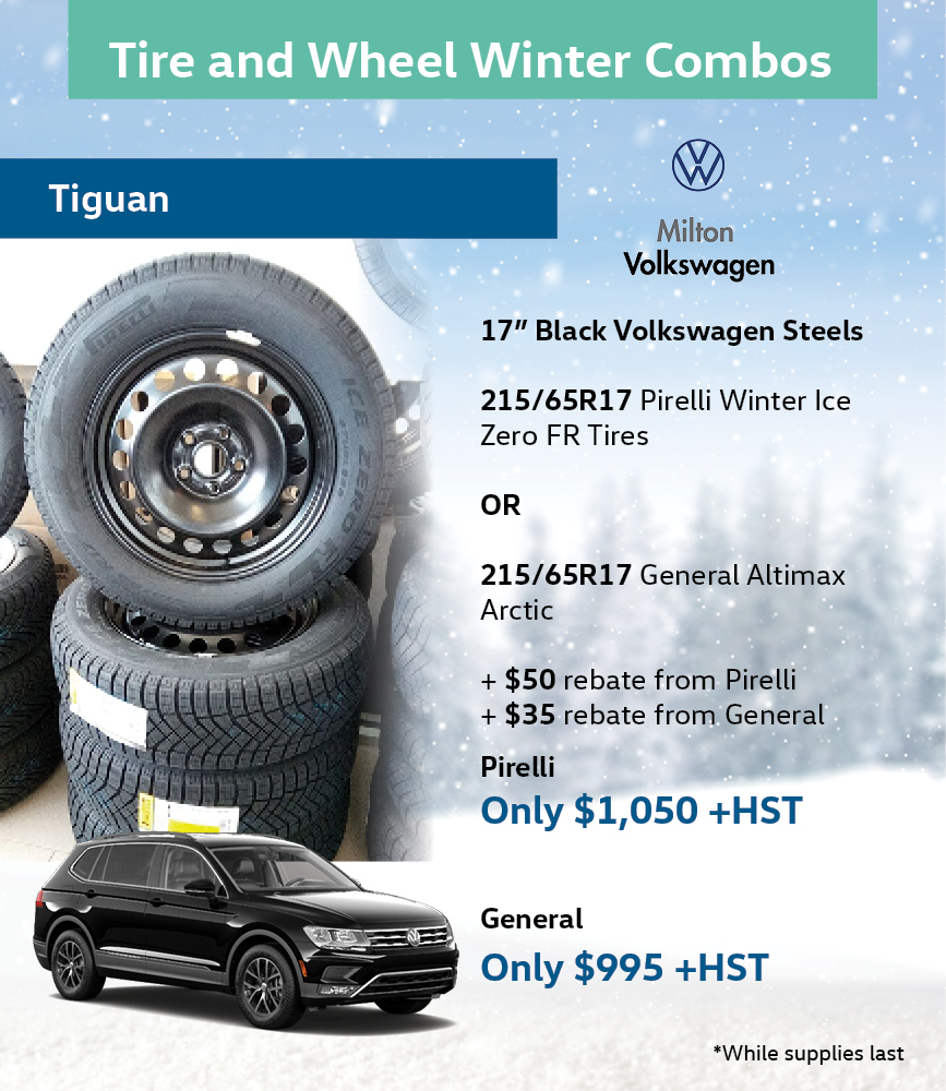 Tiguan Winter Tire Special Steels