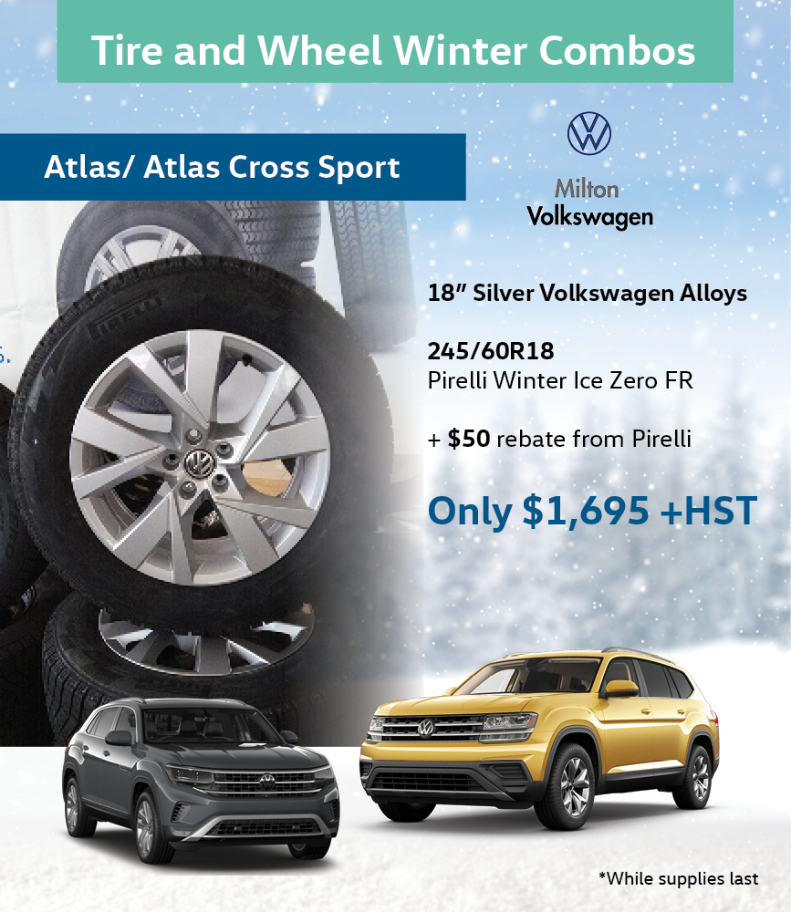 Atlas Winter Tire Combo