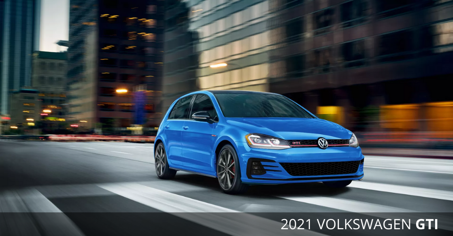 2021 Volkswagen Golf GTI Available at Milton VW
