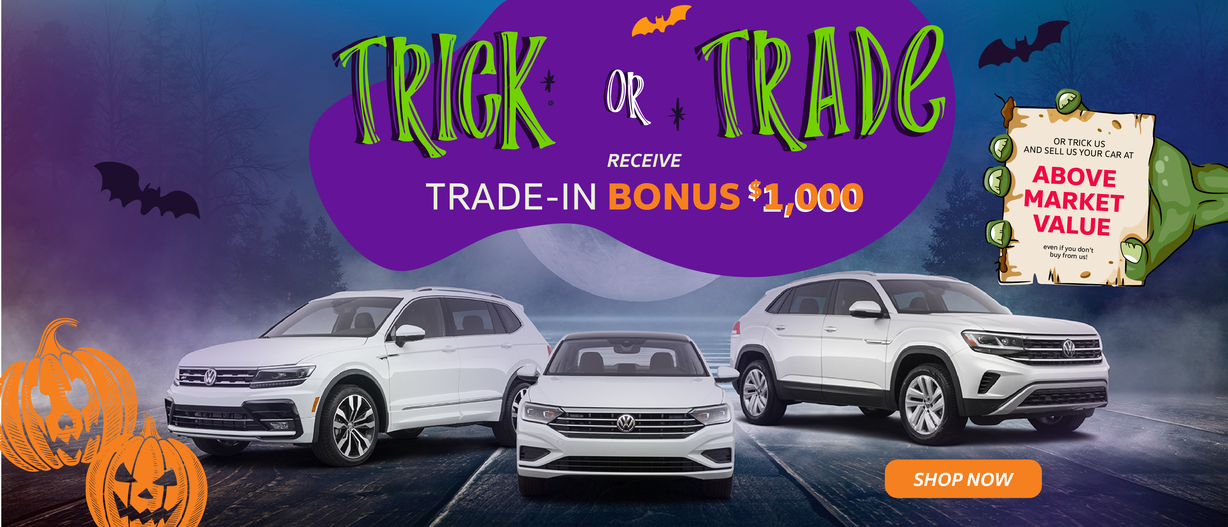 Halloween Trick or Trade