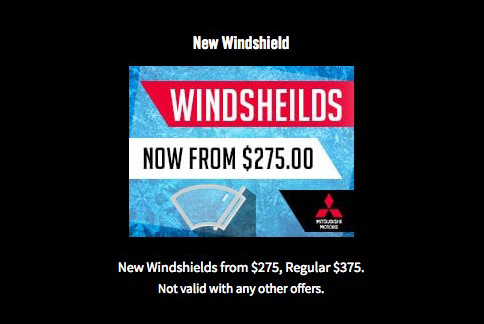 New Windshield Offer