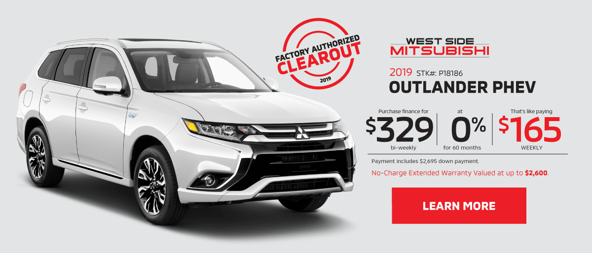 Welcome to West Side Mitsubishi | Edmonton, Alberta