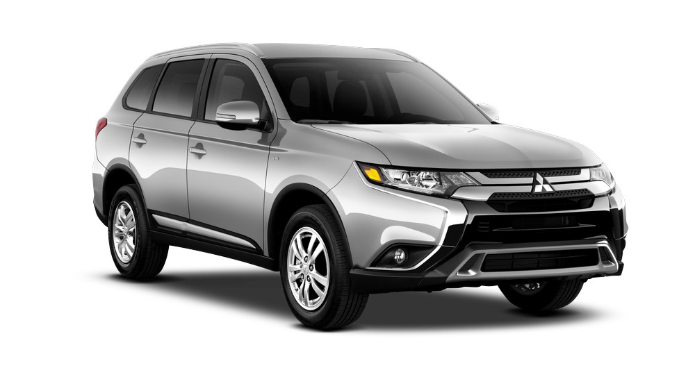 2019 Mitsubishi Outlander SE AWC in Sterling Silver jellybean