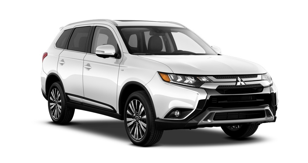 2019 Mitsubishi Outlander GT S AWC in Pearl White jellybean