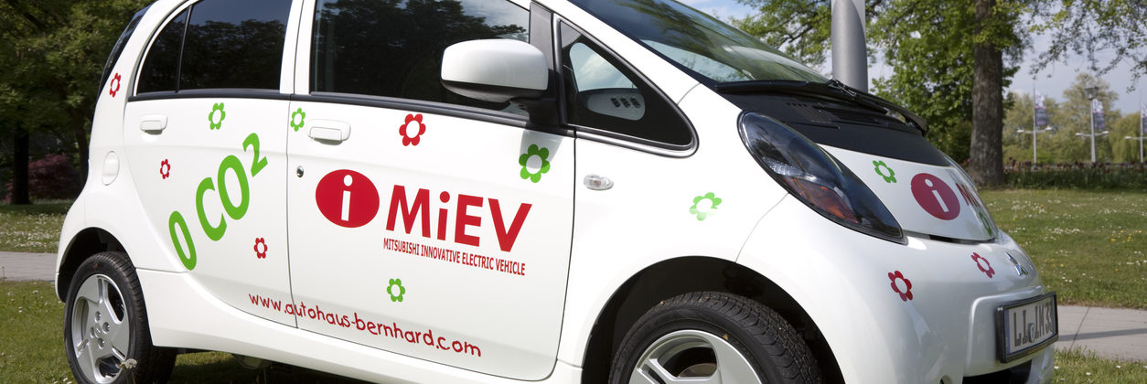 Mitsubishi MiEV technology vehicle