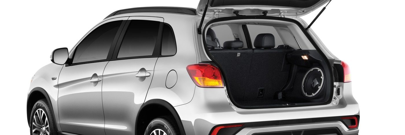 Mitsubishi RVR rear hatch open
