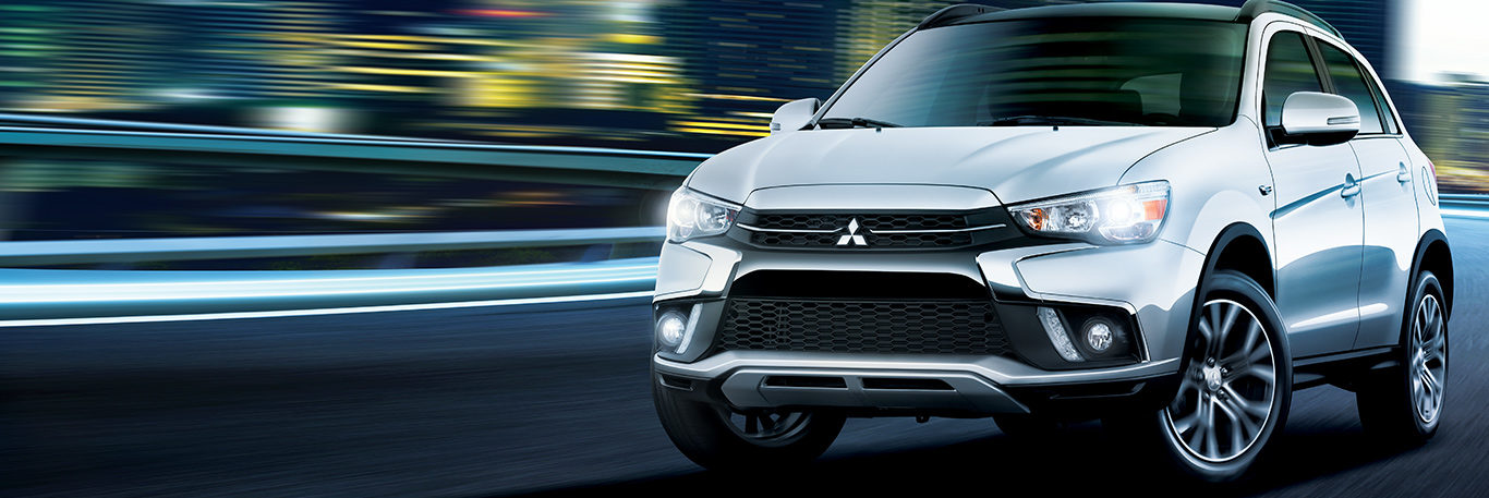 2019 Mitsubishi RVR Crossover driving in the city