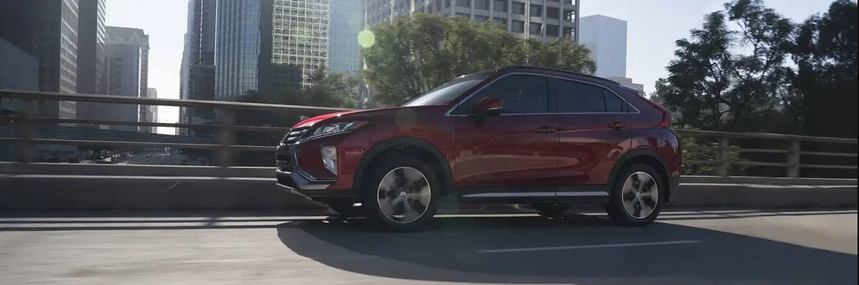 A red 2019 Mitsubishi Eclipse Cross