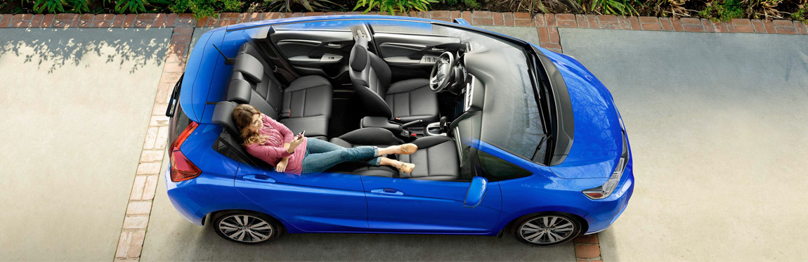 2019 Honda Fit interior view
