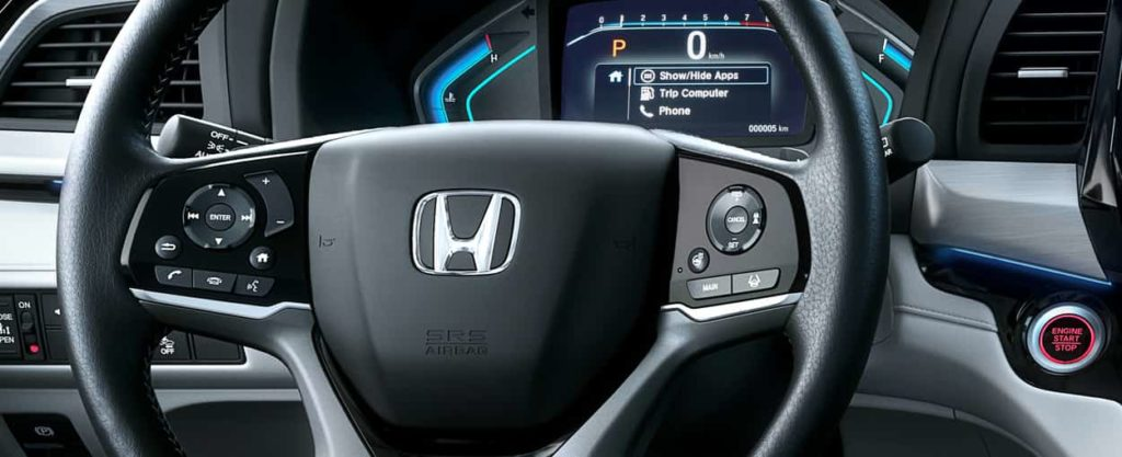 Steering wheel controls for the 2019 Honda Odyssey