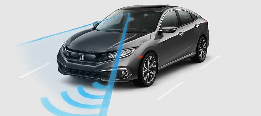 2019 honda Civic with Driving Assist graphics