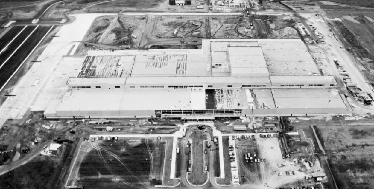 Honda Manufacturing Plant 1 in 1988