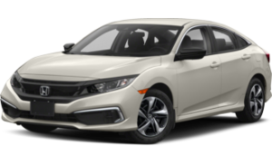 2019 Honda Civic DX in white